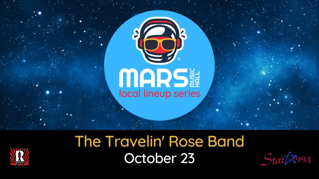 The Travelin' Rose Band at Mars Music