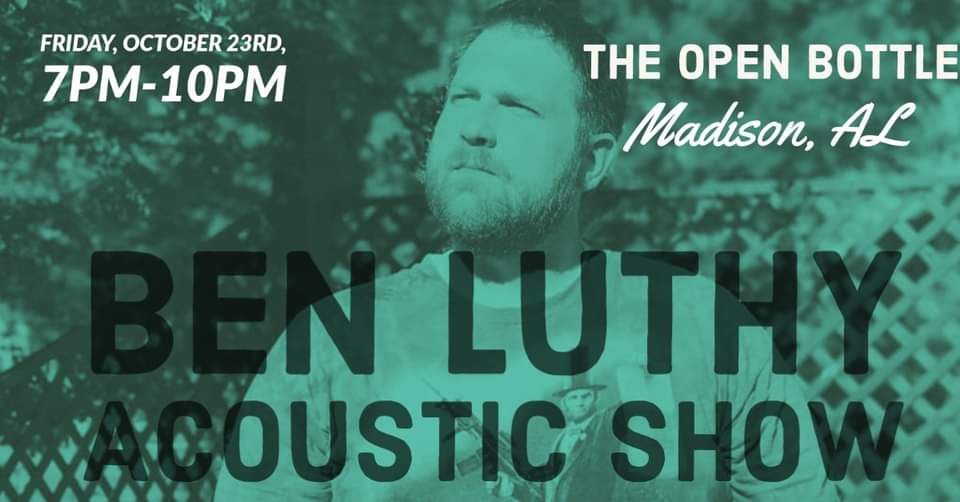 Ben Luthy at The Open Bottle