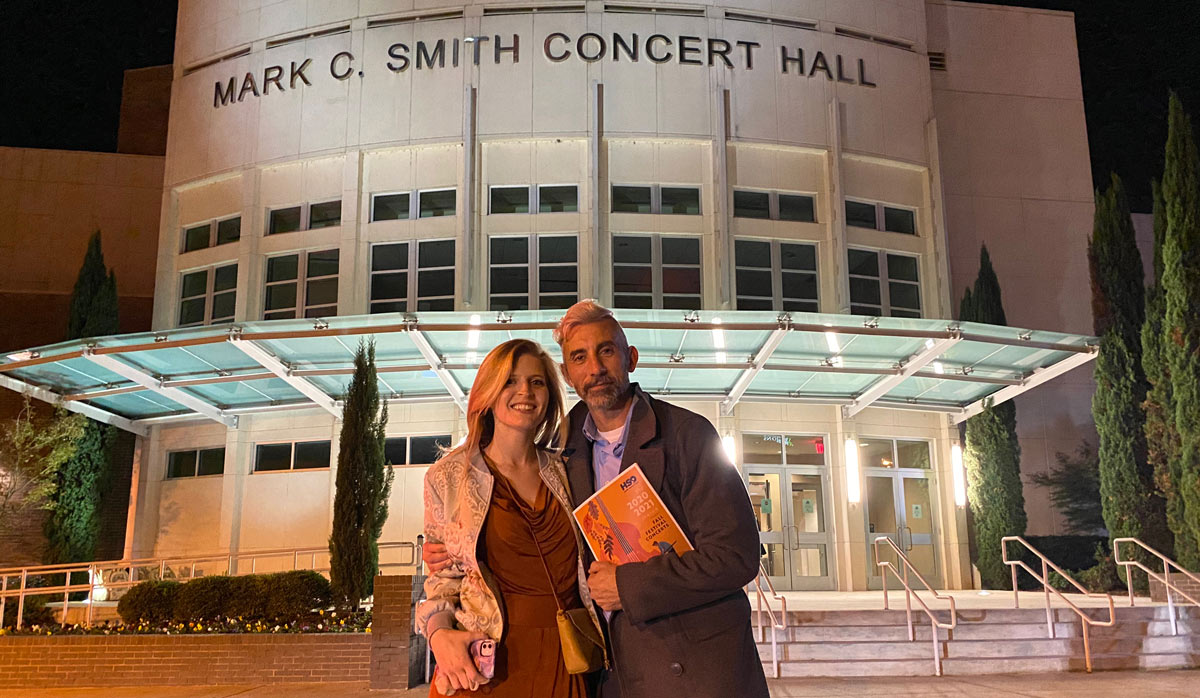 Tom & Grace at the symphony