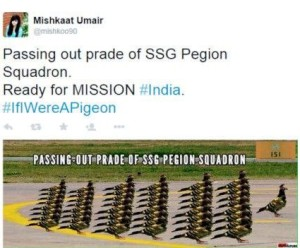 Pigeon Squadron Passing Out Parade
