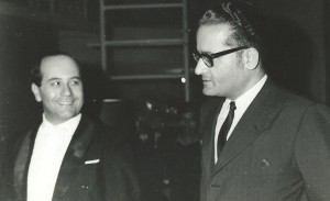 Igor Oistrakh and Azim Lewis
