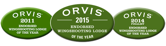 2015 Orvis Endorsed Wingshooting Lodge of the Year