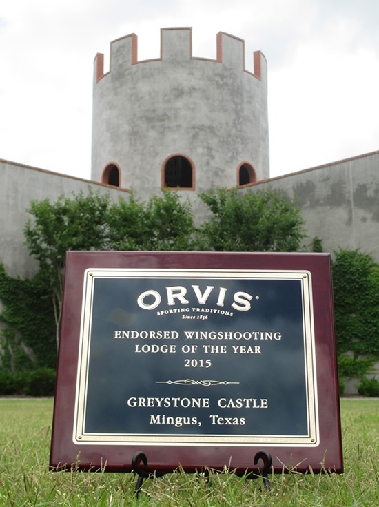 Orvis Wingshooting Award