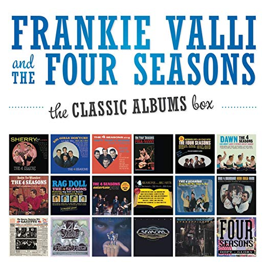 Frankie Valli and the Four Seasons the Classic Albums Box