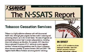 thumbnail of SAMHSA-tobacco-cessation-2013