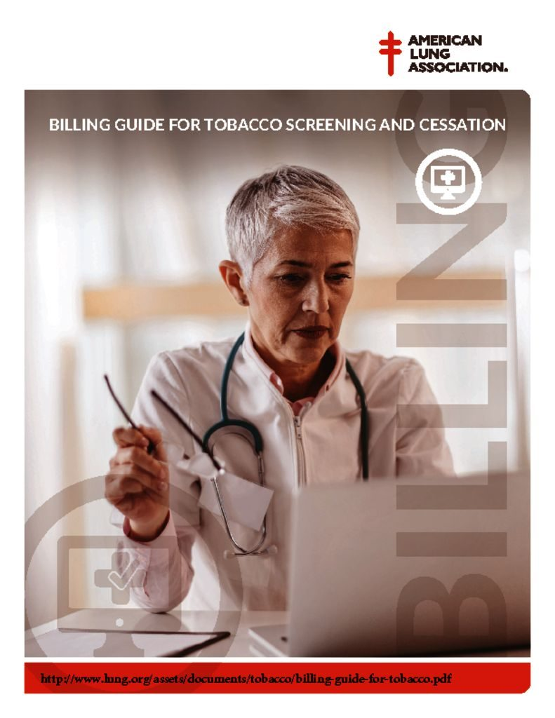 thumbnail of billing-guide-for-tobacco screening and cessation ALA June 2018