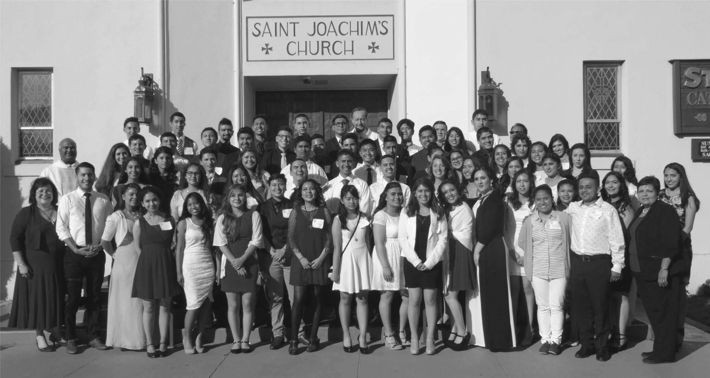 Confirmation Class of 2015 – Congratulations!