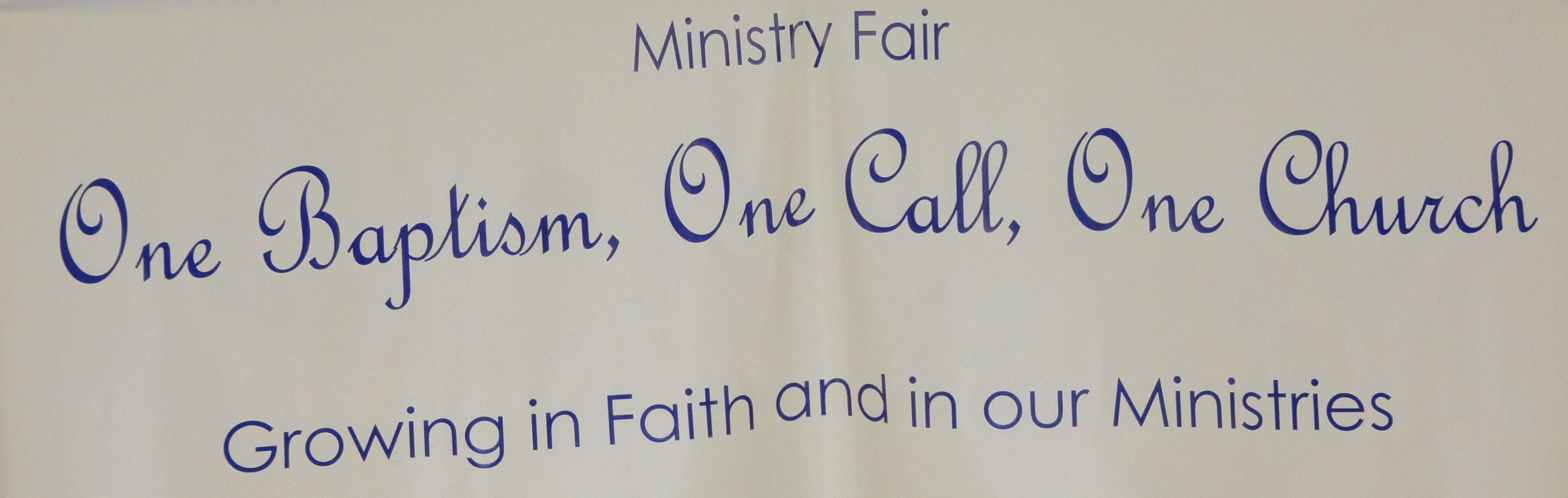 Ministry Fair 2015 Photos