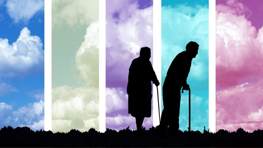 age, seniors, old
