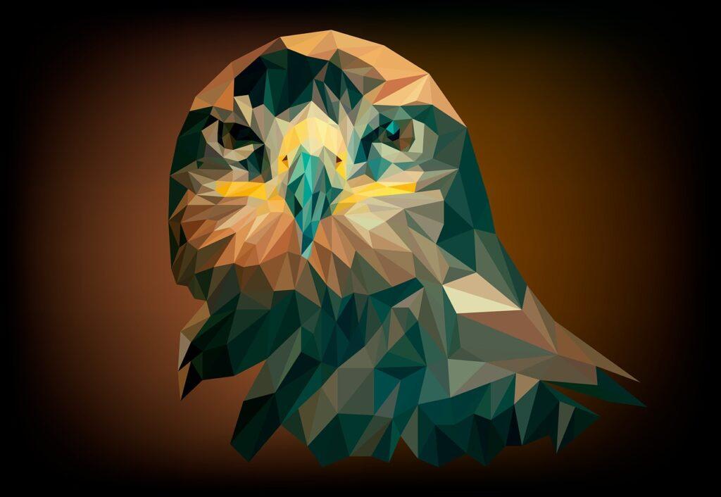 eagle, bird, nature
