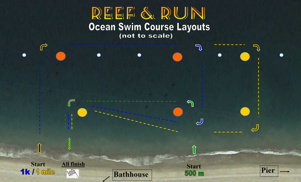 Reef and Run 2015 Course Map