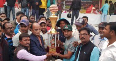 पटेल मैदान में खेले जा रहे जिला क्रिकेट लीग में बढ़त के आधार पर आरआईसीसी बना चैंपियन समस्तीपुर Town