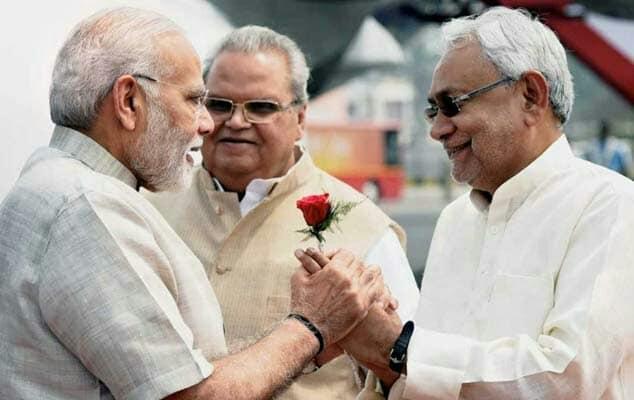 बिहार में महागठबंधन का कोई भविष्य नहीं, 2019 में भी नरेंद्र मोदी ही पीएम बनेंगे --- सीएम नीतीश समस्तीपुर Town