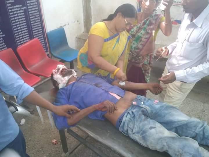 सड़क दुर्घटना में बाइक सवार युवक की मौत समस्तीपुर Town