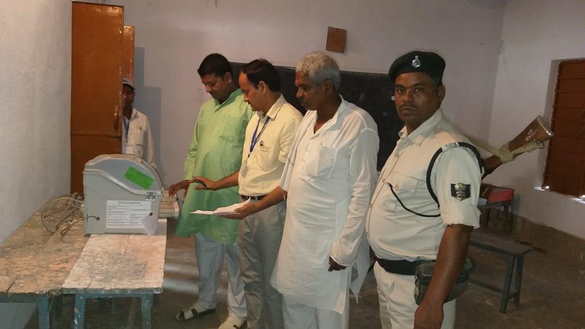 मौसम ने मतदान को बुलाया, EVM ने रुलाया समस्तीपुर Town