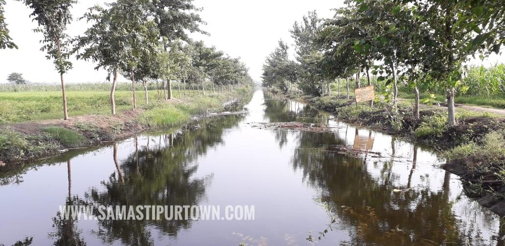 खनुआं स्वीस गेट खुलने से नहर के जरिए दुमरदह चौर में पहुंचा पानी, किसानों के चेहरे खिले समस्तीपुर Town
