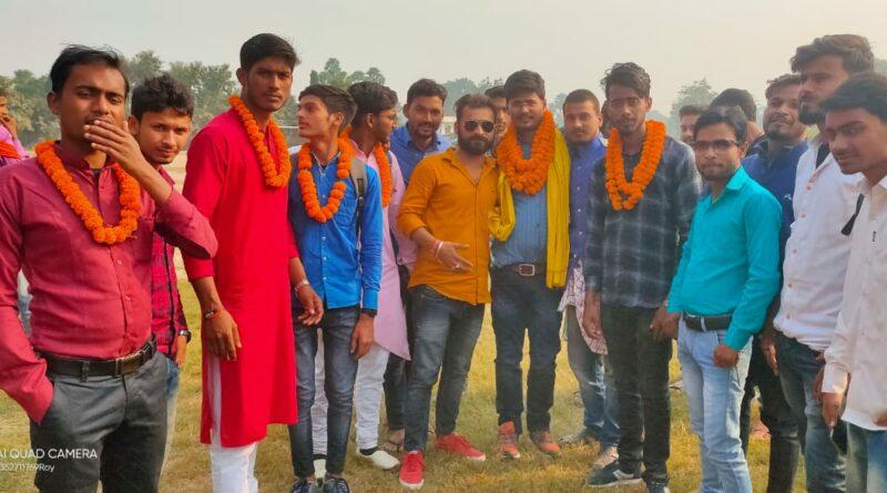 आर बी कॉलेज छात्र संघ चुनाव के लिए पहले दिन आठ छात्रों ने भरा नामांकन का पर्चा समस्तीपुर Town