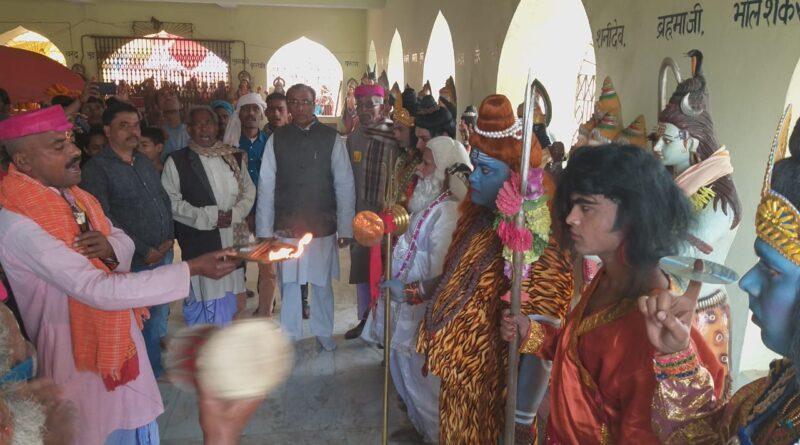 शिव विवाह के अलौकिक चित्रण से निहाल हुए विद्यापतिधाम वासी,निकली बारात झांकी, मांगलिक गीतों के बीच श्रद्धालुओं ने उतारी आरती समस्तीपुर Town