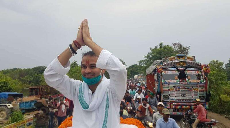 ब्रेकिंग: हसनपुर विधायक तेजप्रताप यादव की अचानक बिगड़ी तबीयत, सांस लेने में दिक्कत, आनन-फानन में पहुंचे तेजस्वी समस्तीपुर Town