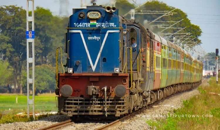 सहरसा-पाटलिपुत्रा-सहरसा का परिचालन 10 अगस्त से होगा, जानें रूट चार्ट... समस्तीपुर Town