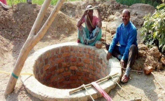 एक और दशरथ मांझी! पत्नी को पानी भरने बहुत दूर जाना पड़ता था, पति ने 31 फीट गहरा कुआं खोद डाला समस्तीपुर Town