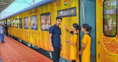पटना-नई दिल्ली राजधानी एक्सप्रेस के किराए में ही करें तेजस का सफर, कोच में होंगी हाईटेक सुविधाएं समस्तीपुर Town