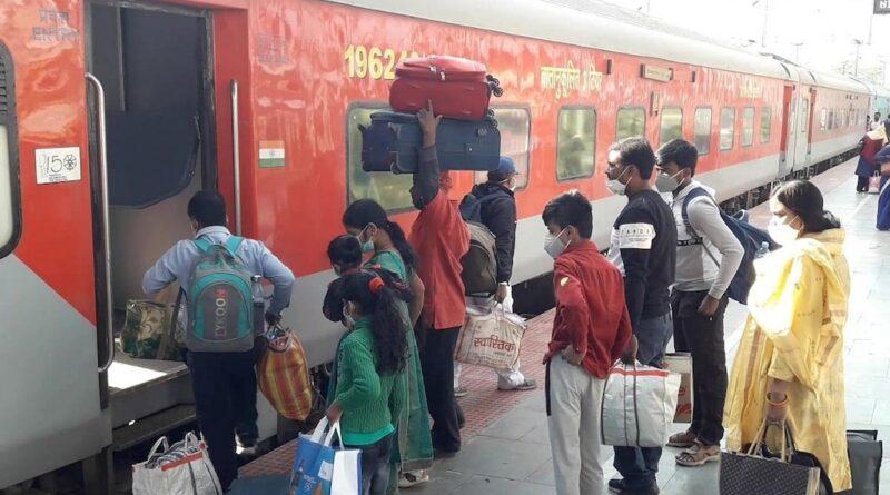 दीपावली व छठ पूजा को लेकर ट्रेनों में बढ़ी भीड़, जानिए किन ट्रेनों में सीटें खाली समस्तीपुर Town