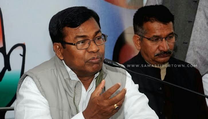 बिहार में पूरी तरह टूट चुका है गठबंधन, लोकसभा चुनाव भी अकेले लड़ेंगे: कांग्रेस समस्तीपुर Town