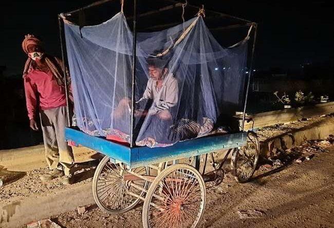 जिंदगी के लिए जंग : रिक्शे पर गृहस्थी लादकर चल पड़े घर, हरियाणा से समस्तीपुर तक कर रहे सफर समस्तीपुर Town