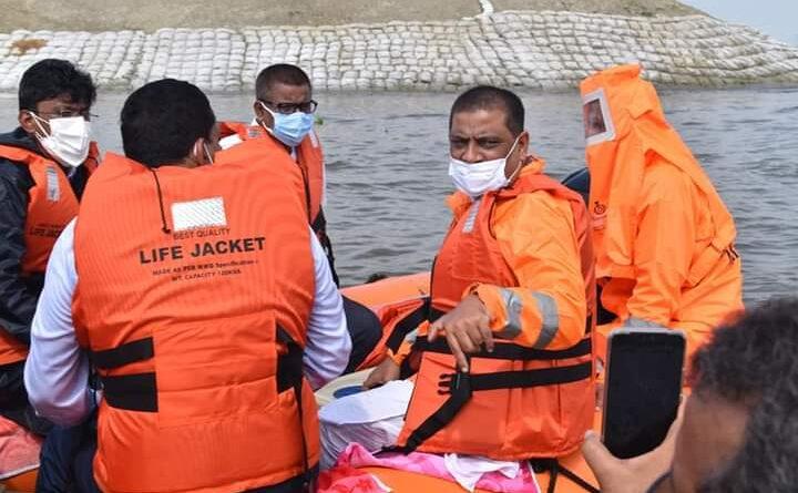 बगैर पूर्व सूचना के अचानक जल संसाधान मंत्री पहुंचे बिथान, बाढ़ प्रभावित इलाकों का किया दौरा समस्तीपुर Town