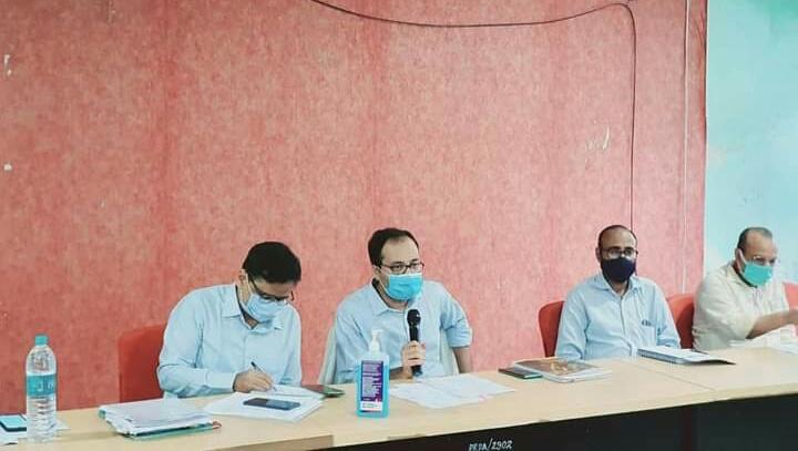 समस्तीपुर में शत प्रतिशत कोविड-19 टीकाकरण कार्यक्रम के लक्ष्य की प्राप्ति हेतु समीक्षात्मक बैठक आयोजित समस्तीपुर Town