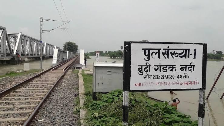 समस्तीपुर में उच्चतम जलस्तर से 68 व रोसड़ा में 52 सेमी नीचे है बूढ़ी गंडक समस्तीपुर Town