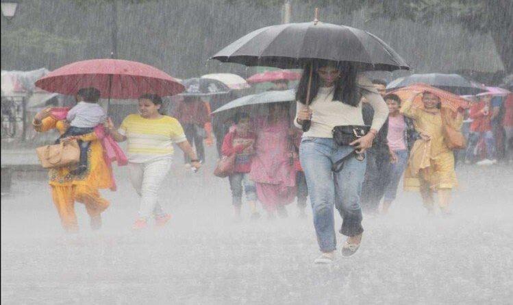बिहार में तीन दिनों तक भारी बारिश व वज्रपात के आसार, इन इलाकों में सबसे ज्यादा असर समस्तीपुर Town