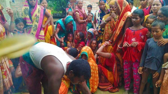 मछली पकड़ने के दौरान वृद्ध का पैर फिसला, गहरे पानी में जाने से हुई मौत समस्तीपुर Town