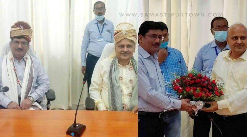 समस्तीपुर रेल मंडल : DRM के सम्मान में अभिनंदन सह विदाई समारोह का आयोजन समस्तीपुर Town