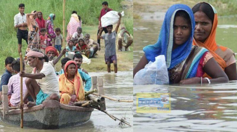 समस्तीपुर में गंगा का जलस्तर स्थिर, फिर भी परेशानी नही हुई कम समस्तीपुर Town