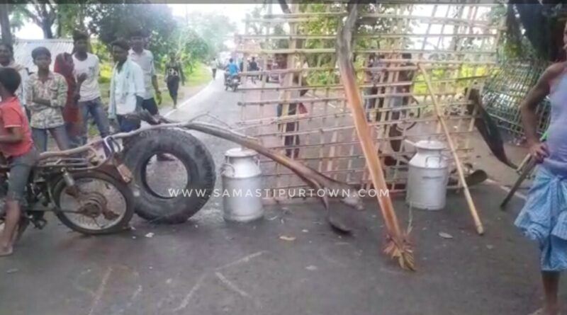 नल-जल योजना का करीब तीन महीने से जलापूर्ति नहीं होने से क्षुब्ध ग्रामीणों ने किया सड़क जाम समस्तीपुर Town