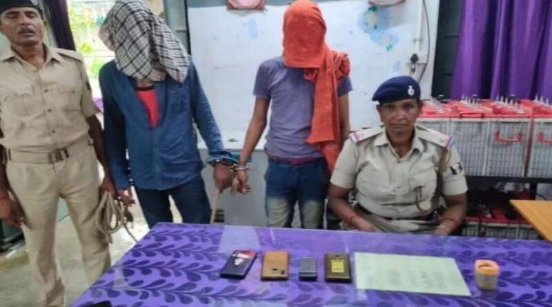 समस्तीपुर जंक्शन पर अपराध की साजिश रचते दो शातिर को रेल पुलिस ने धर दबोचा समस्तीपुर Town