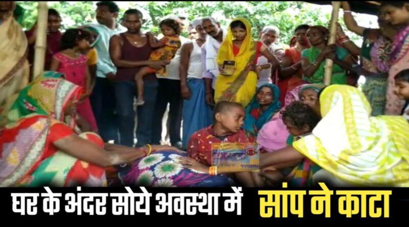 घर के अंदर सोये अवस्था में महिला को सांप ने काटा, इलाज के दौरान मौत, महीनों से घर के पास था जलजमाव समस्तीपुर Town