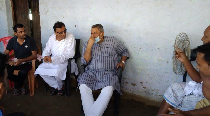 शोक संतृप्त भाजपा नेता के घर पहुंच शिक्षा मंत्री विजय चौधरी ने जताई संवेदना समस्तीपुर Town