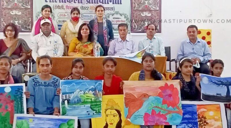 वीमेंस कॉलेज में आजादी के अमृत महोत्सव पर चित्रकला प्रतियोगिता का हुआ अयोजन समस्तीपुर Town