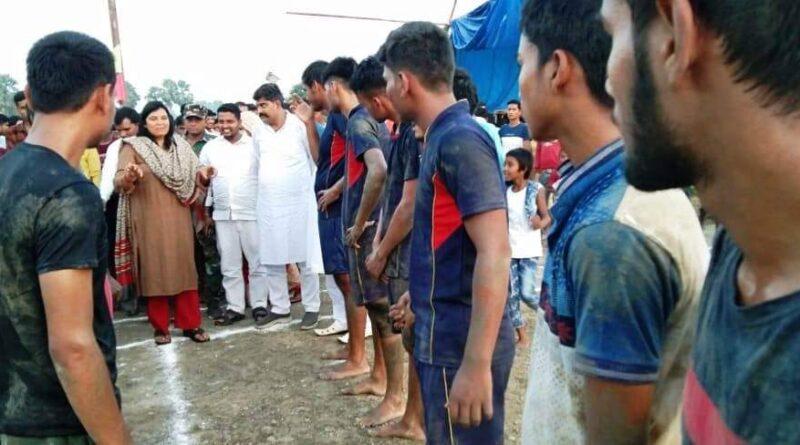 तीन दिवसीय कबड्डी प्रतियोगिता में राजाजान ने सिवैसिगपुर को हराया समस्तीपुर Town