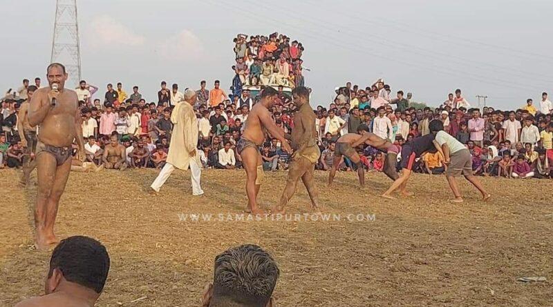 समस्तीपुर : मोहिउद्दीननगर के सुलतानपुर अखाड़ा का चैंपियन बना दिल्ली का कालू पहलवान समस्तीपुर Town