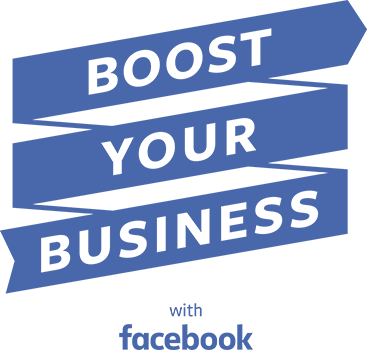 Facebook Boost Your Business Logo