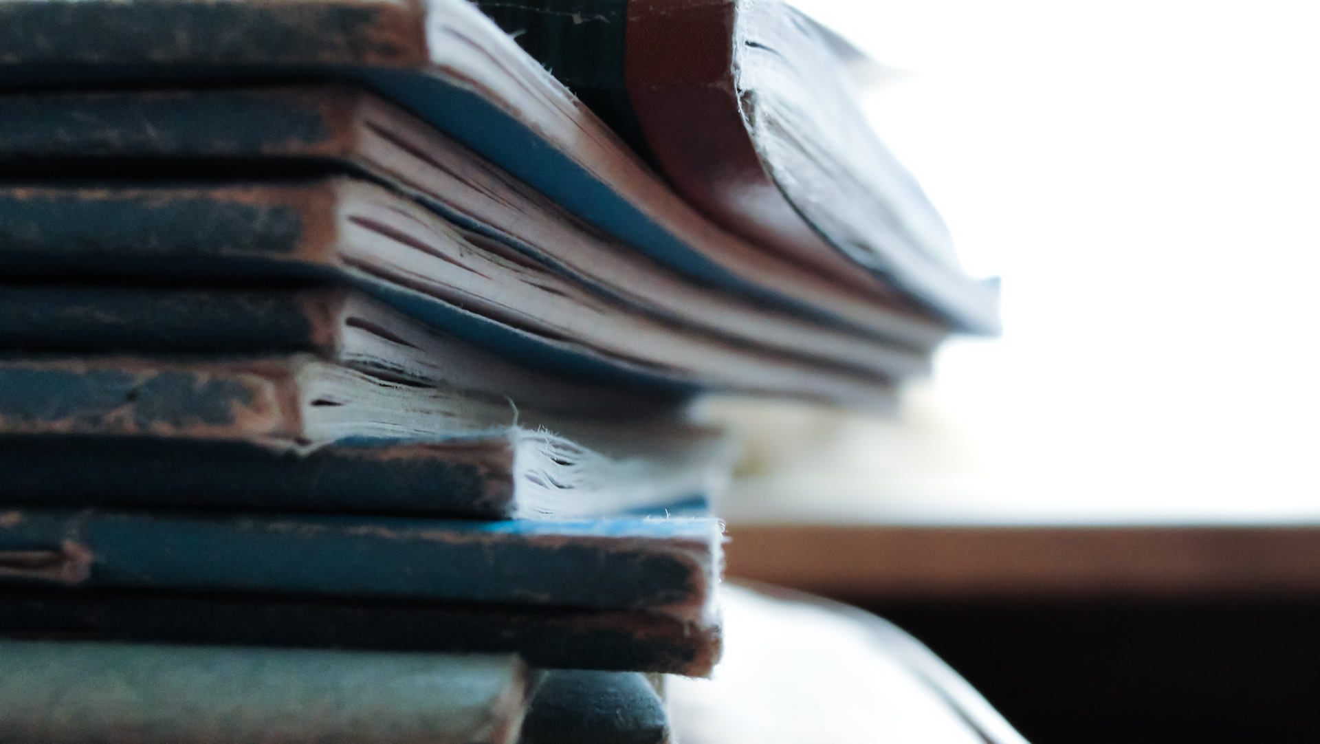 Stack of books - financial management