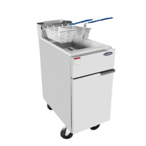 Atosa ATFS-40 Heavy Duty 40lb S/S Commercial Deep Fryer