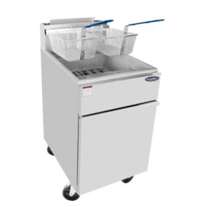 Atosa ATFS-75 Heavy Duty 75 S/S Commercial Deep Fryer