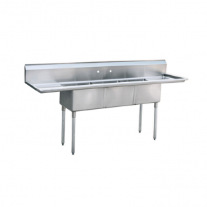 Atosa MRSB-3-D Three Compartment Sink