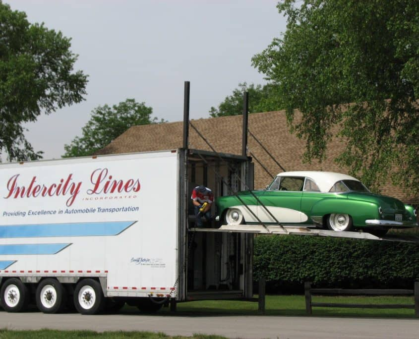 shipping a classic car