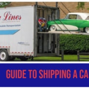guide to shipping a car